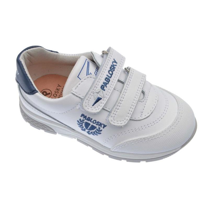 Zapatos blancos Pablosky infantiles HNoc3i69