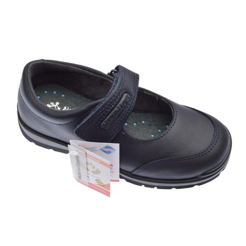 f1d505e46 Zapatos Colegiales Titanitos de niña color marino