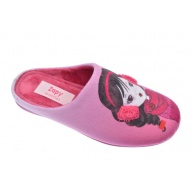 ZAPATILLAS ESTAR POR CASA DE NIÑA ZAPY CHICLE MORA 90520