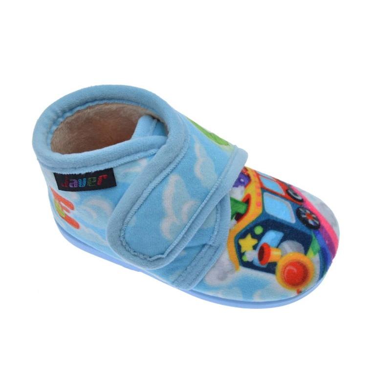 Zapatillas estar en casa de ni o javer celeste 1 36 calzados galera - Zapatillas casa nino carrefour ...