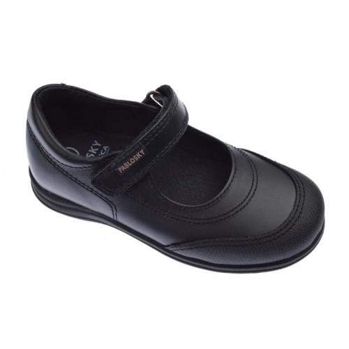 69203fe723d Zapatos Colegiales de niña color negro Pablosky