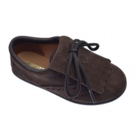 ZAPATOS BLUCHER CHUCHES SERRAJE CHOCOLATE 9010