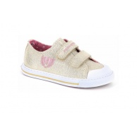 ZAPATILLAS NIÑA PABLOSKY CANVAS GOLD GLITTER 948780