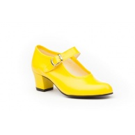 ZAPATOS BAILE NIÑA ANGELITOS AMARILLO 302