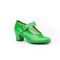 ZAPATOS SEVILLANA NIÑA ANGELITOS VERDE 302