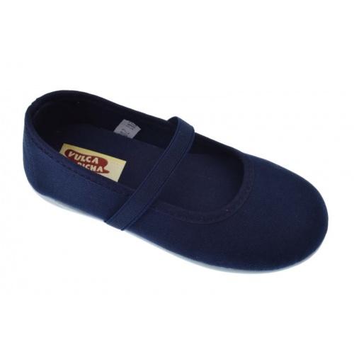 d04888a46dc Zapatillas azul marino para niña