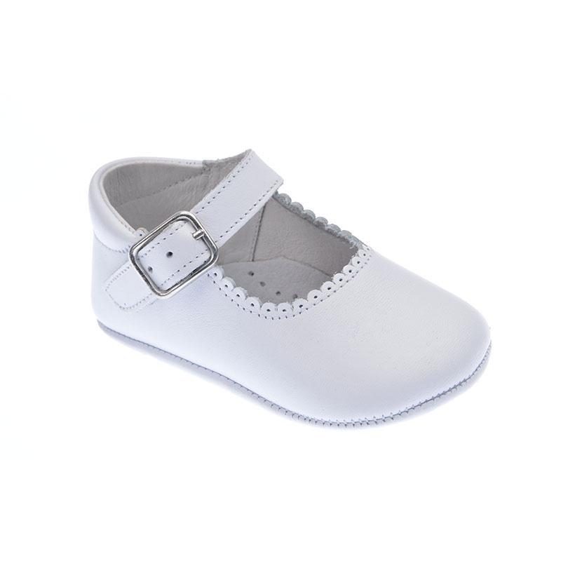 Zapatos blancos para bebé Z6zdnCuPeK