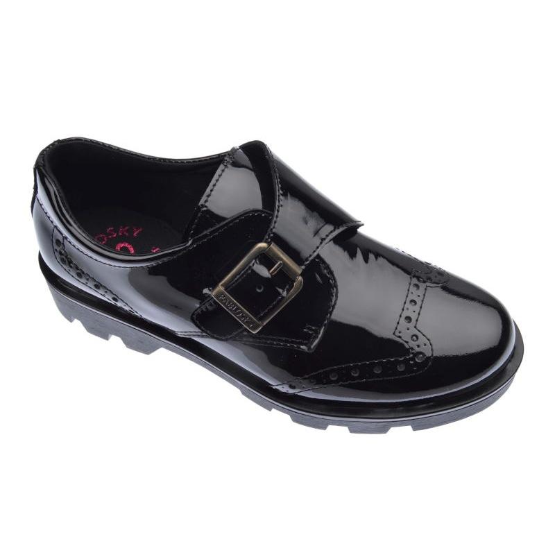 0660d23bd Inicio Niña Zapatos ZAPATOS NIÑA PABLOSKY CHAROL LISO NEGRO 326819.  Cargando.