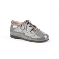 ZAPATOS NIÑO ANGELITOS GRIS 1505