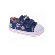 ZAPATILLAS NIÑA PABLOSKY CANVAS NAVY GLITTER 954020