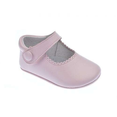 2181ee49a Zapato de bebé sin suela rosa