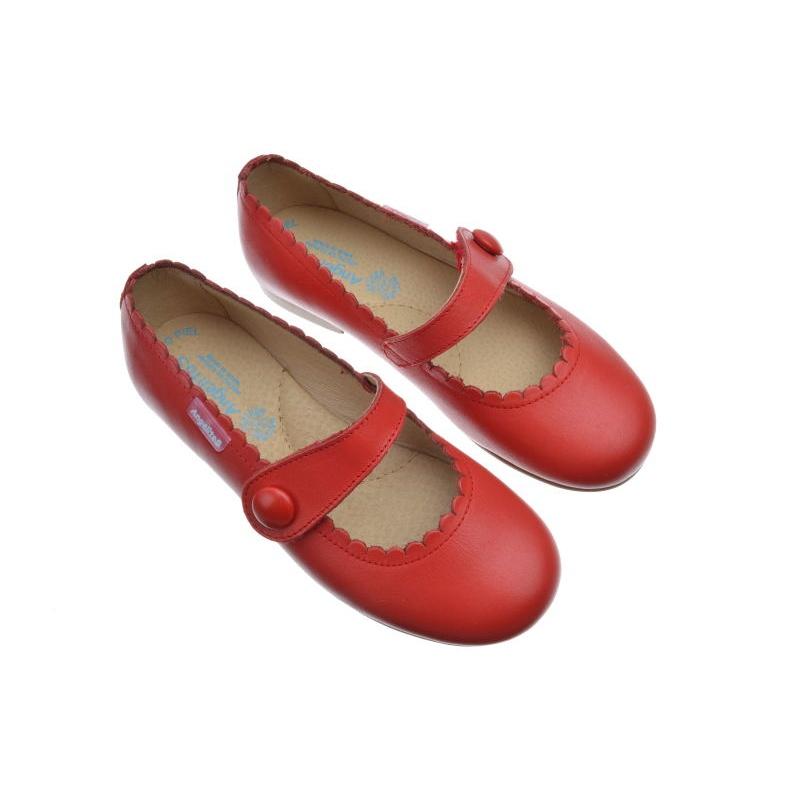 Zapatos rojos Angelitos para bebé cpp1o