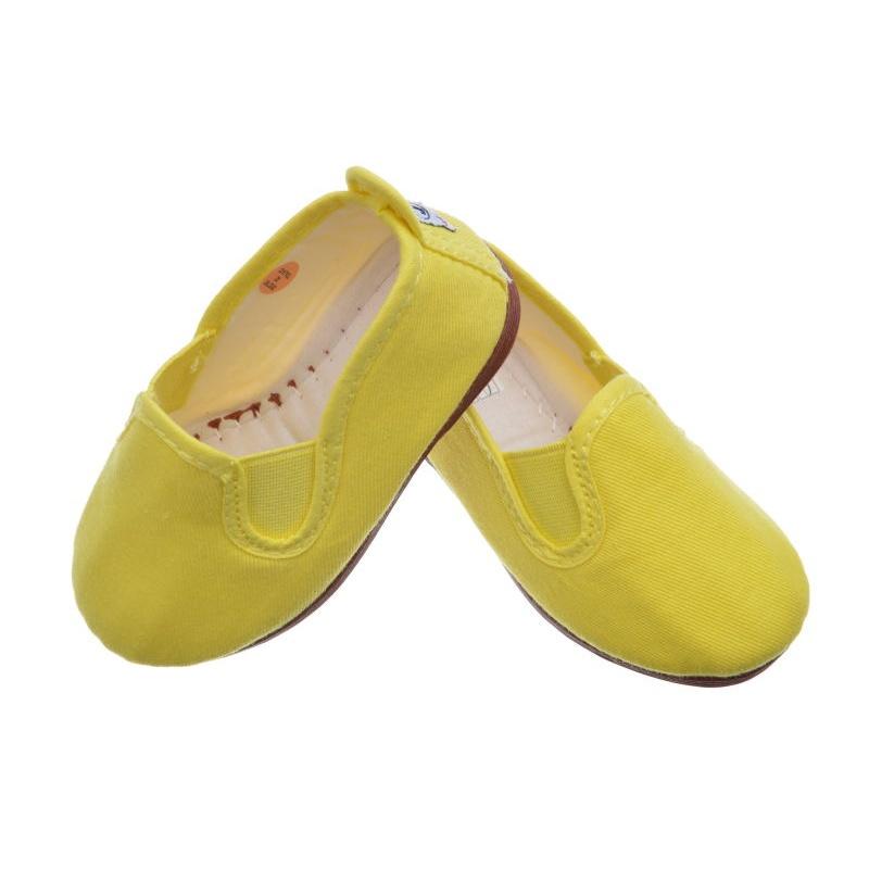 70cae814c Zapatillas Kung-Fu para niña y niño color amarillo