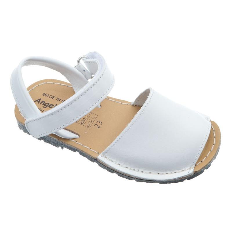 1334f7363e2 Menorquinas blancas para niño y niña marca Angelitos