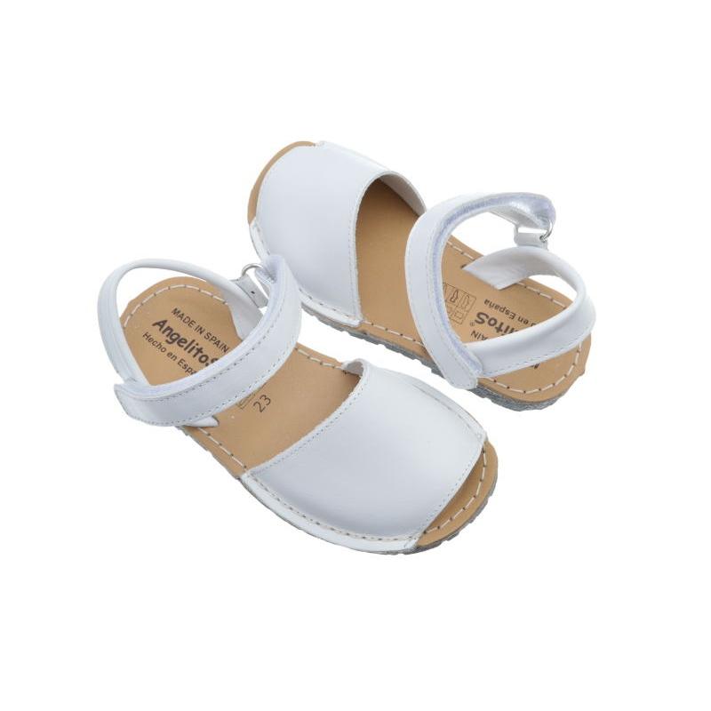 412fe17b0 Menorquinas blancas para niño y niña marca Angelitos