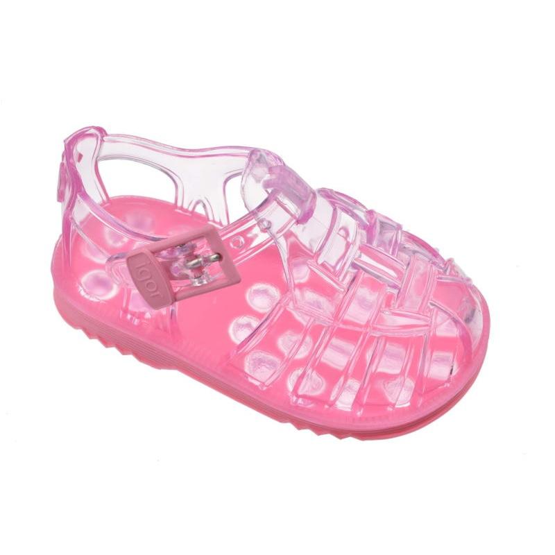 401971d56 Cangrejeras bebé Igor rosa para niña
