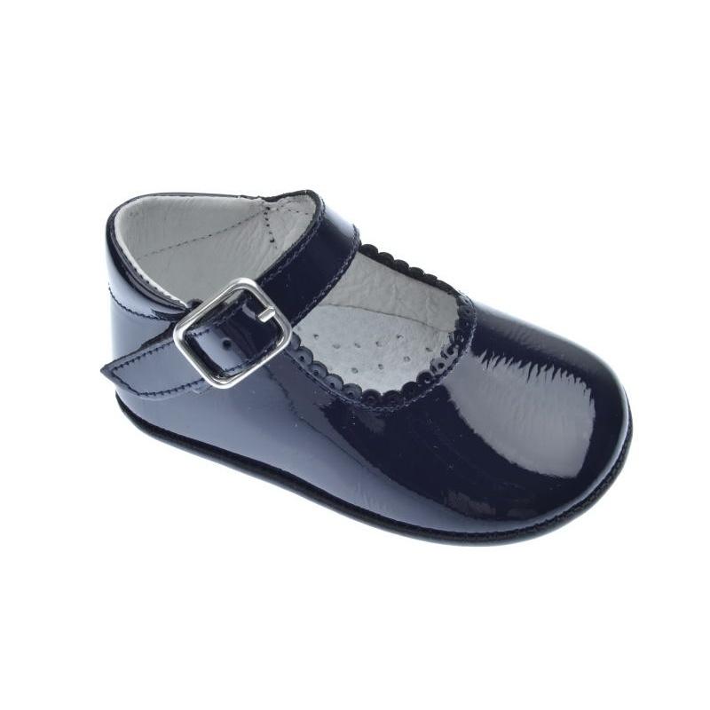 Bebé Charol 1154 Zapatos Marino Indice PXwnO80k